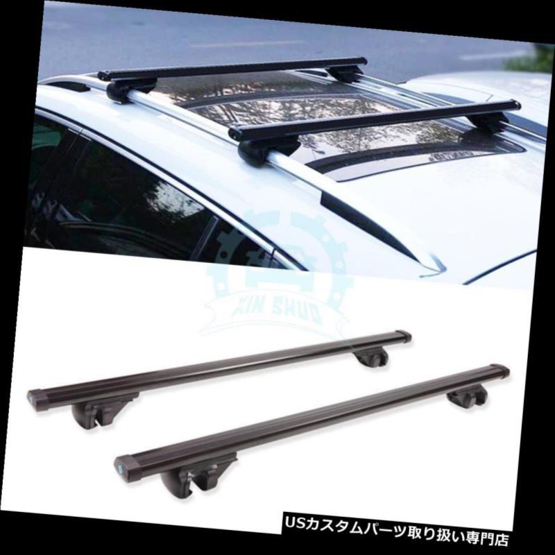 キャリア スバルアウトバック2015-2016アルミ合金製クロスバーラックルーフラック1ペア用 Fit For Subaru Outback 2015-2016 Aluminum alloy Crossbar Rack Roof Rack 1pair