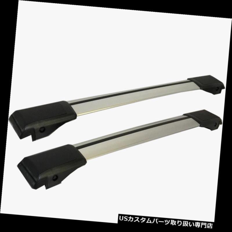 キャリア Kia Sorento MK2 2011 - 2015用アルミ製ロック可能ルーフラッククロスバーセット Aluminium Lockable Roof Rack Cross Bar Set for Kia Sorento MK2 2011 - 2015