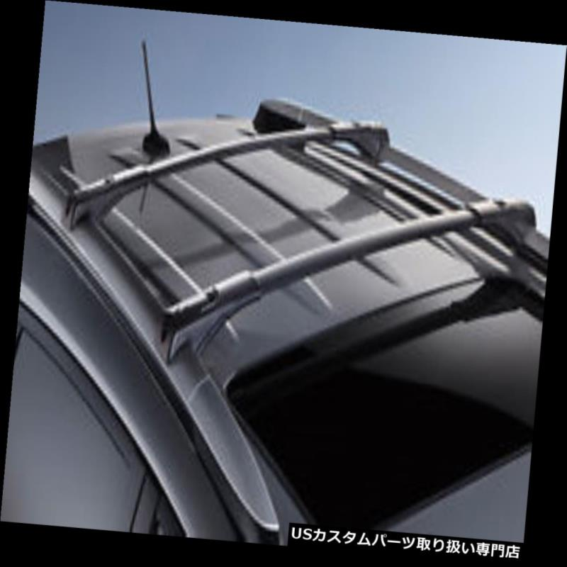 キャリア 2013-2014トヨタRav4-New、OEM用の純正トヨタルーフラッククロスバー Genuine Toyota Roof Rack Cross Bars for the 2013-2014 Toyota Rav4-New, OEM