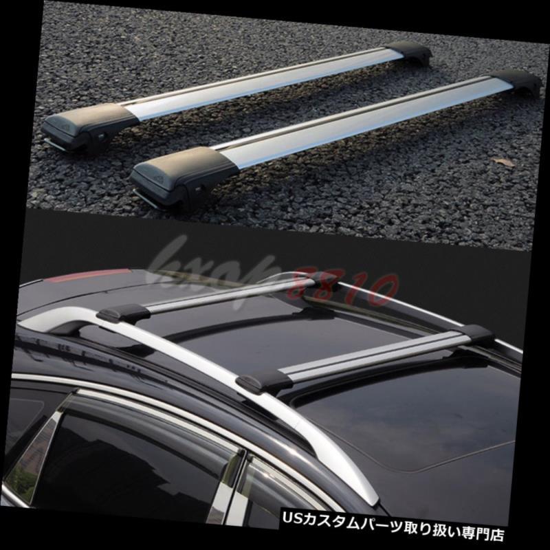 キャリア 三菱Outlander 2004-2016年のための2p合金の貨物運送人の十字棒屋根の棚 2p Alloy Cargo Carrier Cross Bar Roof Racks For Mitsubishi Outlander 2004-2016