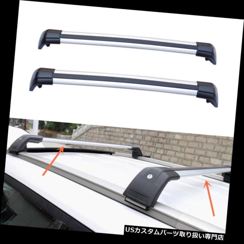 キャリア ビュイックEnvision 2008-2016 2PCSアルミクロスバールーフカーゴ荷物ラック用 For Buick Envision 2008-2016 2PCS Aluminum Cross Bar Roof Cargo Luggage Rack