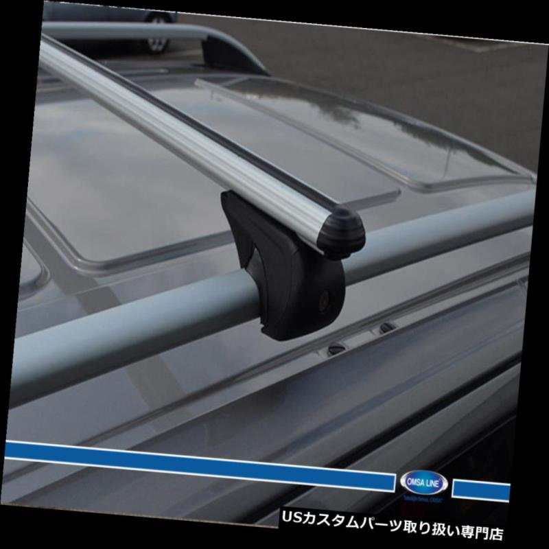 キャリア ルーフラッククロスバークロスレール固定式フィットHYUNDAI I30 WAGON 2008-2012 ROOF RACK CROSS BARS CROSS RAILS LOCKABLE FIT FOR HYUNDAI I30 WAGOON 2008-2012