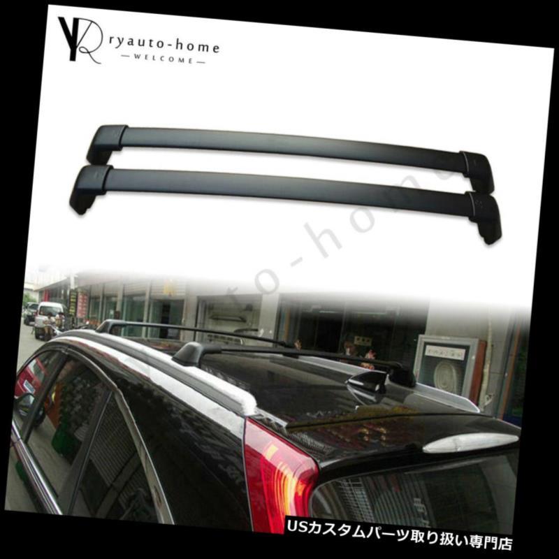 キャリア CRV CR-V 2012-2016荷物キャリアルーフレールラック用クロスバークロスバーフィット Crossbars Cross bars Fits For CRV CR-V 2012-2016 Luggage Carrier Roof Rail Rack