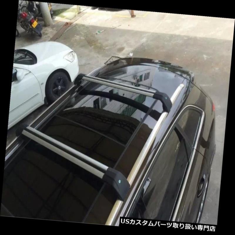 キャリア 三菱アウトランダー2013-2016手荷物荷物ルーフラックレールクロスバーにフィット Fit for Mitsubishi Outlander 2013-2016 baggage luggage roof rack rail cross bar