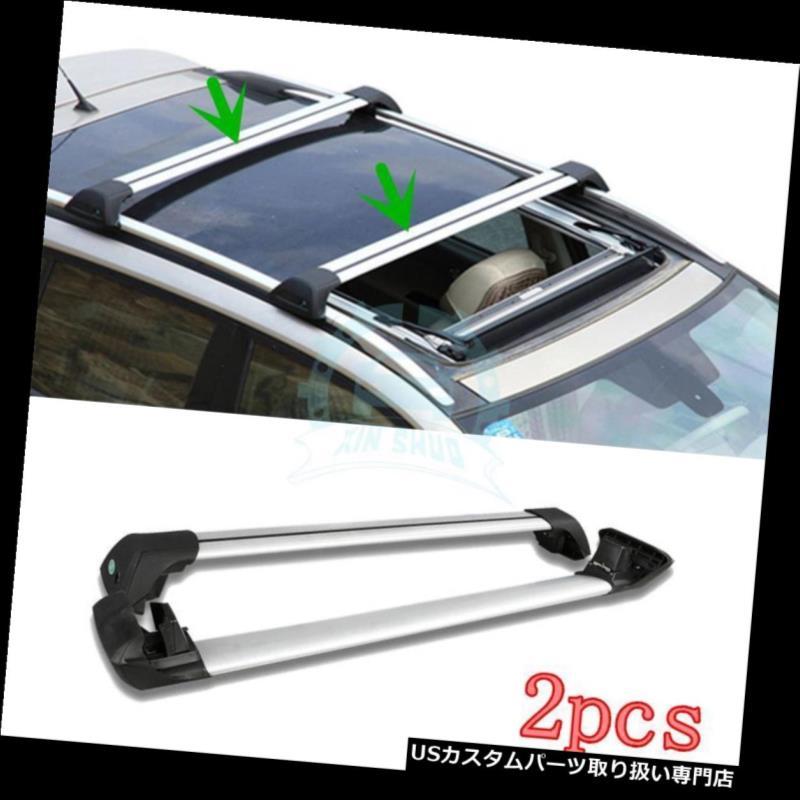 キャリア 2PCS自動車部品オーバーヘッド荷物ラックルーフラック用ポルシェマカン2014-2016 2PCS Auto Parts Overhead Luggage Rack Roof Rack For Porsche Macan 2014-2016