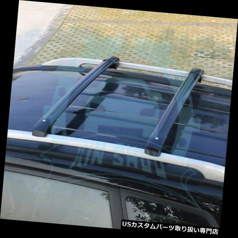 キャリア 起亜ソレント2009-2014手荷物荷物ルーフラックレールクロスバークロスバーB用 for Kia Sorento 2009-2014 Baggage Luggage Roof Rack Rail Cross Bar Crossbars B