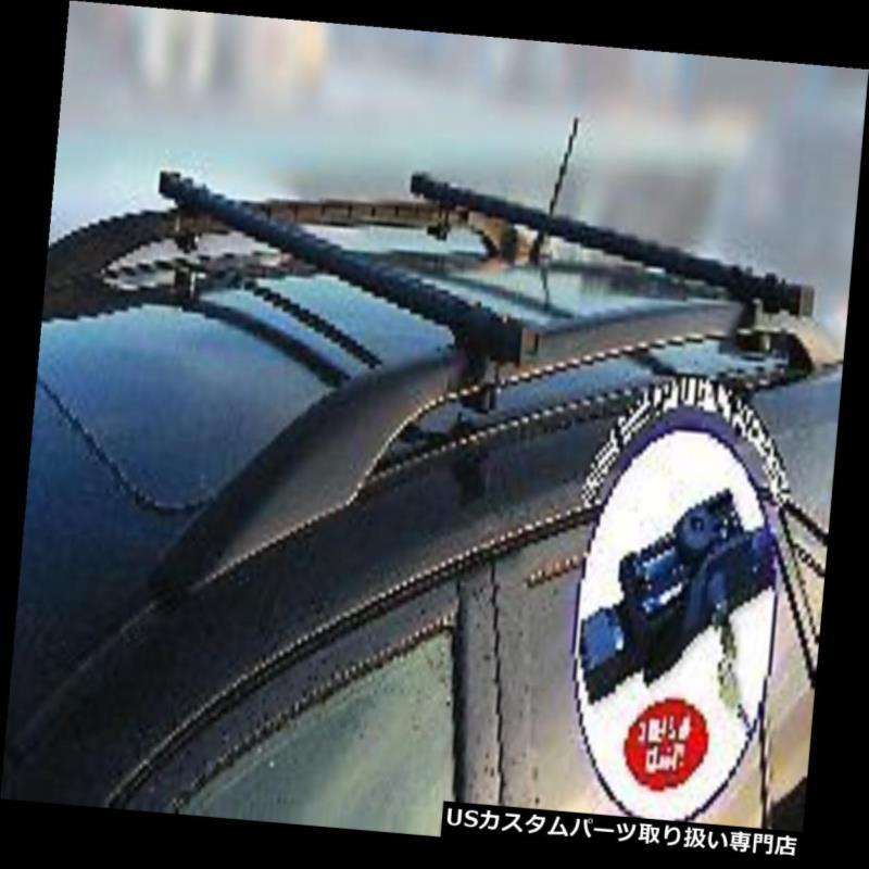USキャリア ルーフラックバー車のルーフレール用盗難防止ロックエステートmpvロッククロスバー Roof rack bars anti-theft locking for car roof rails Estate mpv lock cross bar