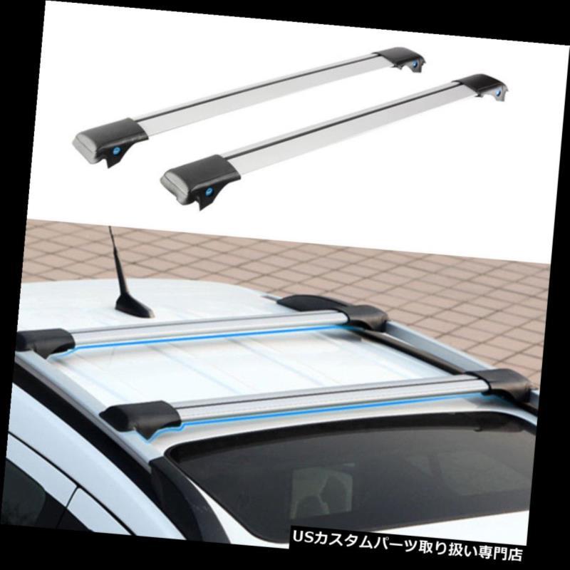 キャリア 日産ムラーノ2008-2016年のための2PCSアルミニウム十字バーの屋根の貨物荷物の棚 2PCS Aluminum Cross Bar Roof Cargo Luggage Rack For Nissan Murano 2008-2016