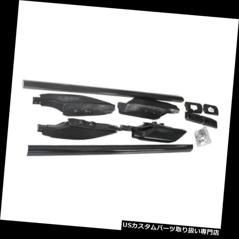 キャリア トヨタプラドFJ120 2003-2009年のための屋根の棚の十字棒荷物のキャリアの黒 Roof Racks Cross Bars Luggage Carriers Black For Toyota Prado FJ120 2003-2009