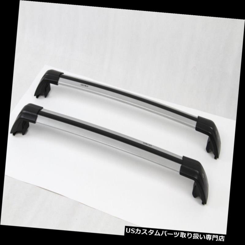 キャリア 三菱アウトランダー2013-16手荷物荷物ルーフラックレールクロスバーN用 For Mitsubishi Outlander 2013-16 baggage luggage roof rack rail cross bar N