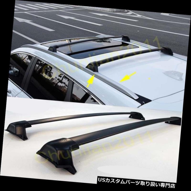 キャリア スタイルルーフラッククロスバーセット荷物キャリア2017-2018ホンダCR-V CRV 2ピース Style Roof Rack Cross Bars Set Luggage Carrier For 2017-2018 Honda CR-V CRV 2pcs