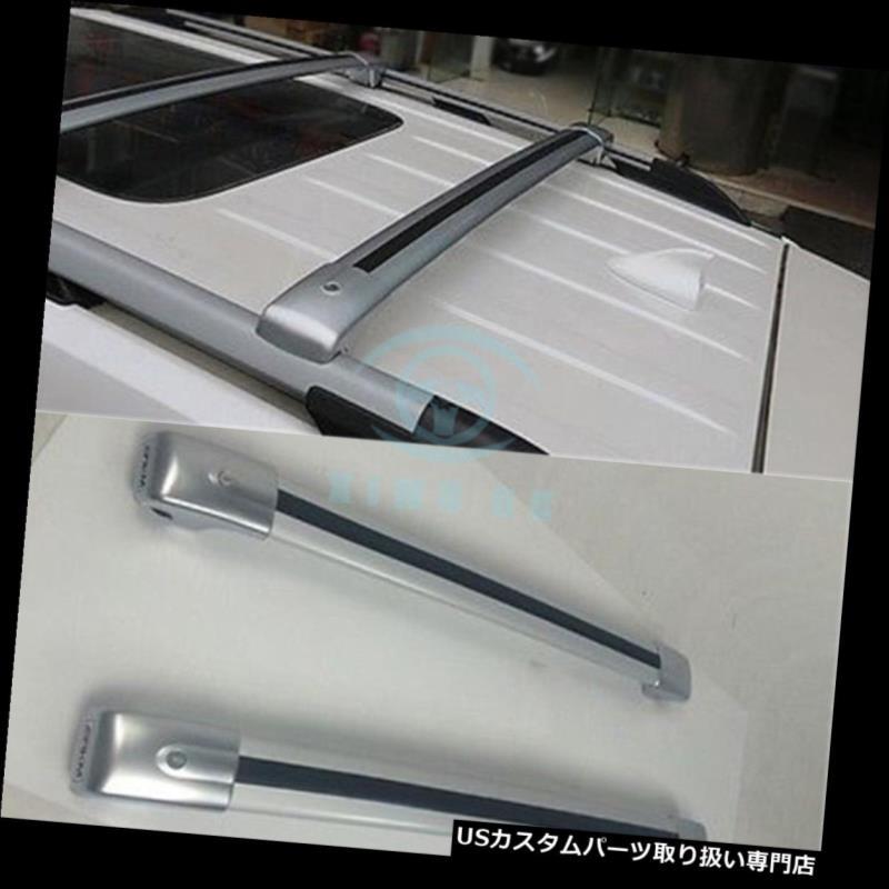 キャリア フォードエクスプローラー2011-2015用手荷物ルーフラックレールクロスバークロスバー1ペア Fit For Ford Explorer 2011-2015 Baggage Roof Rack Rail Cross Bar Crossbar 1Pair