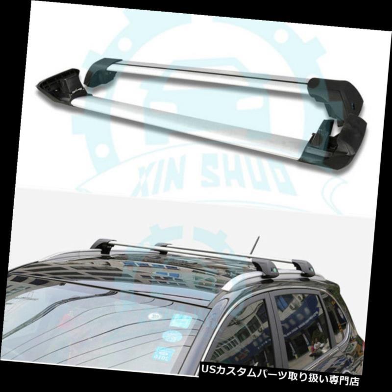 キャリア フォルクスワーゲンVWトゥアレグ2011-2017ルーフレールラッククロスバークロスバーB用 for Volkswagen VW Touareg 2011-2017 Roof Rail Racks Cross Bars Crossbars B
