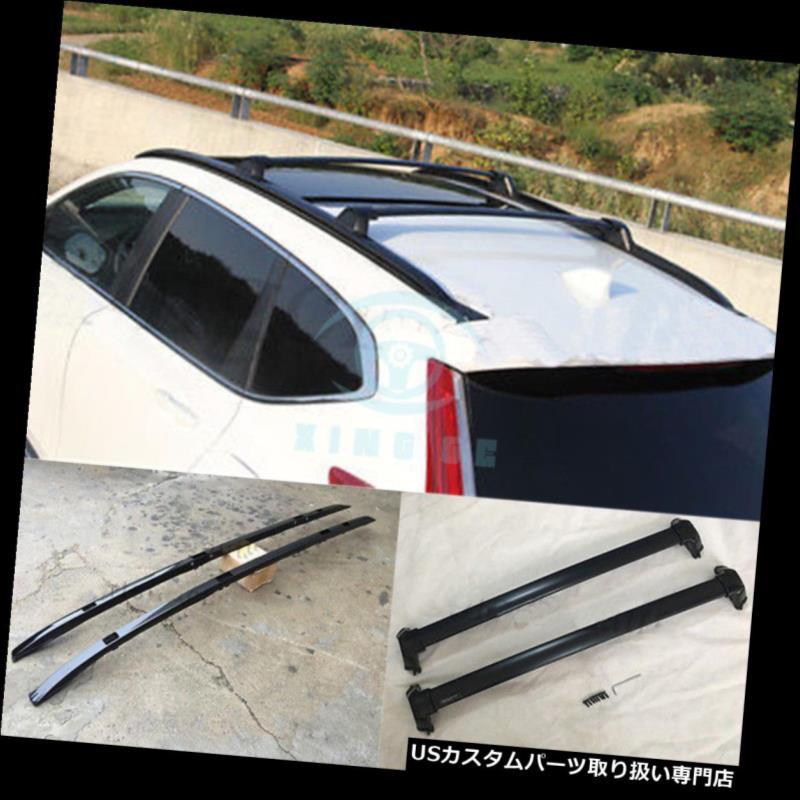 キャリア 4本アルミニウムルーフラックレールクロスバーホンダCRV / CR-V 2017-2018用 4Pcs Aluminium Roof Rack Rail Cross Bar Fit For Honda CRV/CR-V 2017-2018