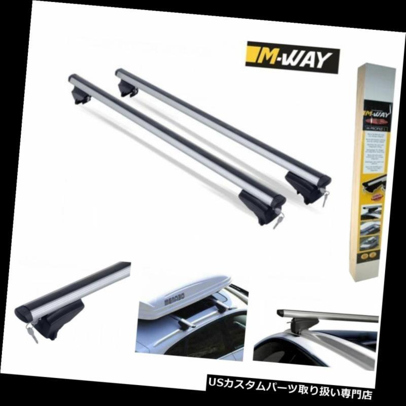 キャリア ロックルーフラックアルミクロスバーはボルボXC 60 2008 - 2013に適合 Locking Roof Rack Aluminium Cross Bars fits Volvo XC60 2008 - 2013