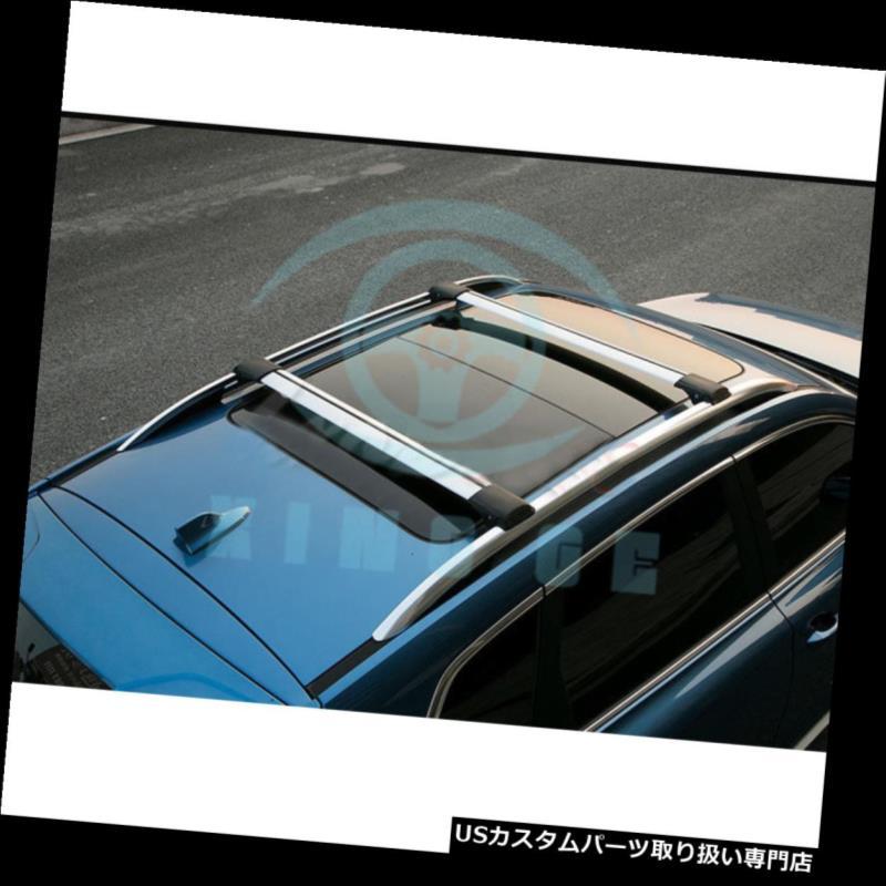 キャリア ルノーKoleos 2009-2014年のための合金2xの上部の荷物のキャリアの十字バーのルーフラック Alloy 2x Upper Luggage Carrier Cross Bar Roof Racks For Renault Koleos 2009-2014