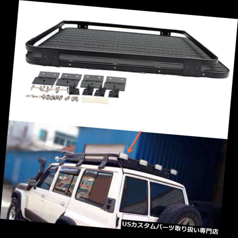 キャリア 日産PATROL Y60 Y61 2010-2016用300ポンドキャリアルーフラックバスケットクロスバー 300 Lbs Carrier Roof Rack Basket Cross Bar For Nissan PATROL Y60 Y61 2010-2016