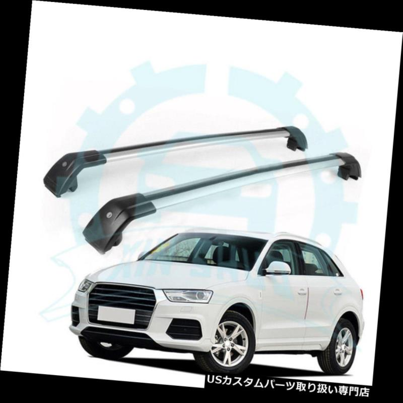 Fit for Audi Q3 2012-2018 Adjustable Baggage Luggage Roof Racks Rail Cross Bars