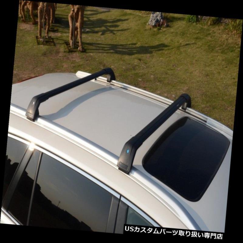 キャリア ブラックトップルーフラックフィット2013-2017ボルボXC60手荷物荷物クロスバークロスバー Black Top Roof Rack Fit 2013-2017 VOLVO XC60 Baggage Luggage Cross Bar Crossbar