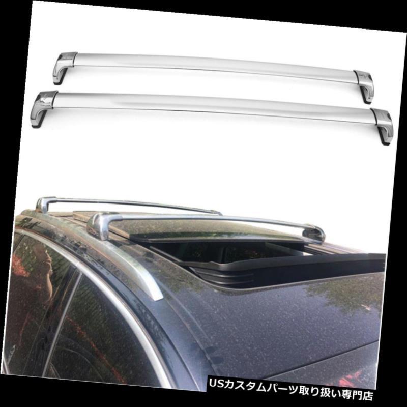 2 Pcs Silver Cross Bar for HONDA  CR-V 17-19 Aluminum Crossbar Roof Rail Rack