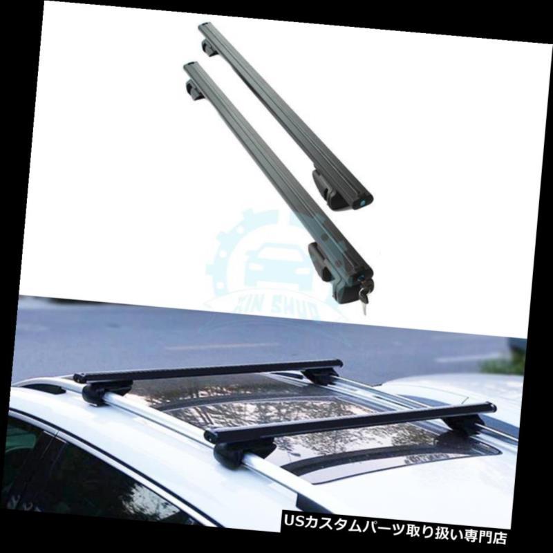 キャリア スバルXV 2012-2016用1ペアアルミ合金クロスバーラックルーフラックフィット 1pair Aluminum alloy Crossbar Rack Roof Rack Fit For Subaru XV 2012-2016
