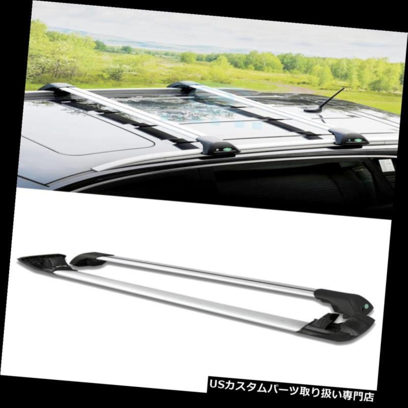 キャリア キャデラックSRXパノラマサンルーフシルバークロスバールーフカーゴラック Fit For Cadillac SRX Panoramic sunroofSilvery Cross Bar Roof Cargo Luggage Rack