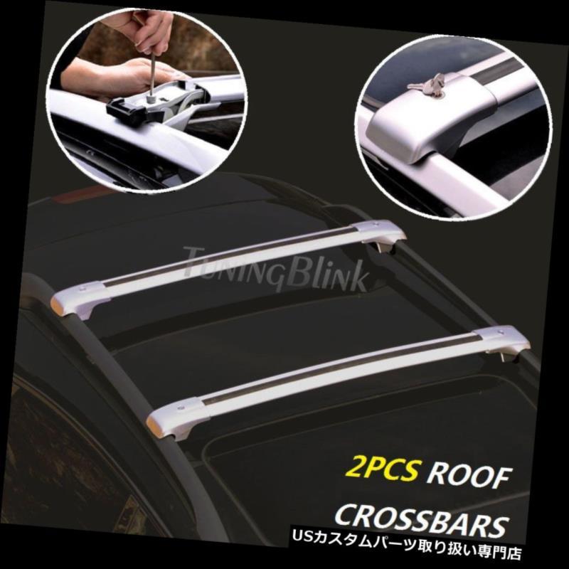 キャリア 手荷物荷物ルーフラッククロスバーキャリア(フィット:Me メルセデスベンツX204 GLK 2009-15) Baggage luggage roof rack cross bar carrier(Fit:Mercedes Benz X204 GLK 2009-15 )