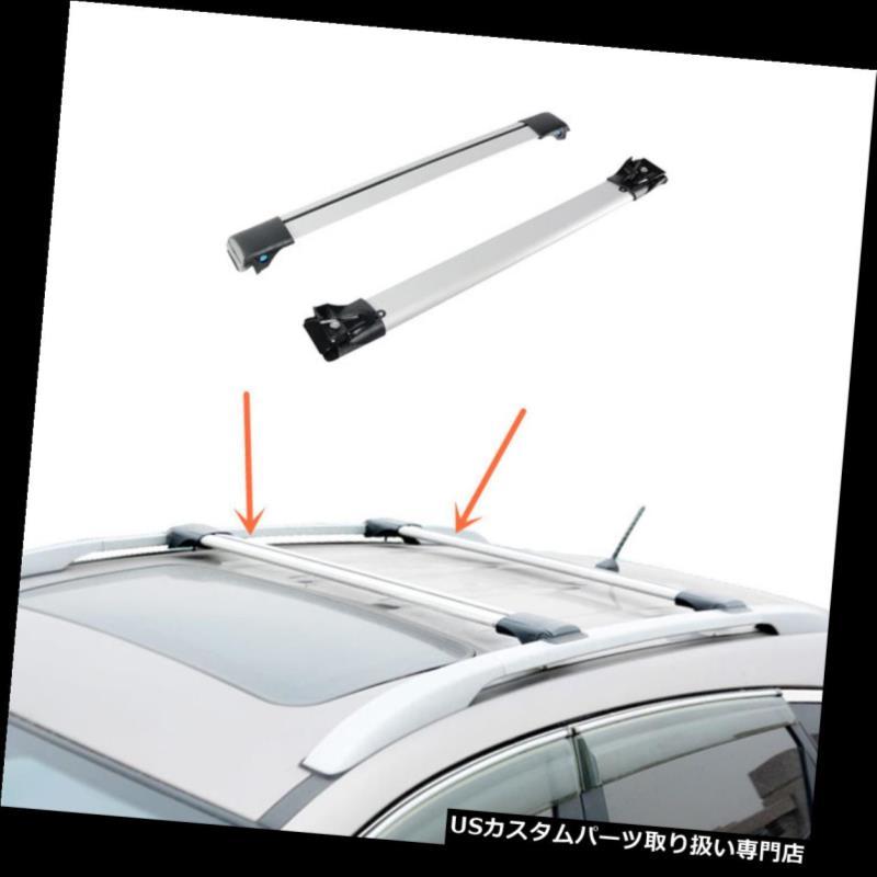 キャリア Lexus RX450h 2010-2016のための2PCSアルミ合金の十字バーの屋根の貨物荷物の棚 2PCS Aluminum alloy Cross Bar Roof Cargo Luggage Rack For Lexus RX450h 2010-2016