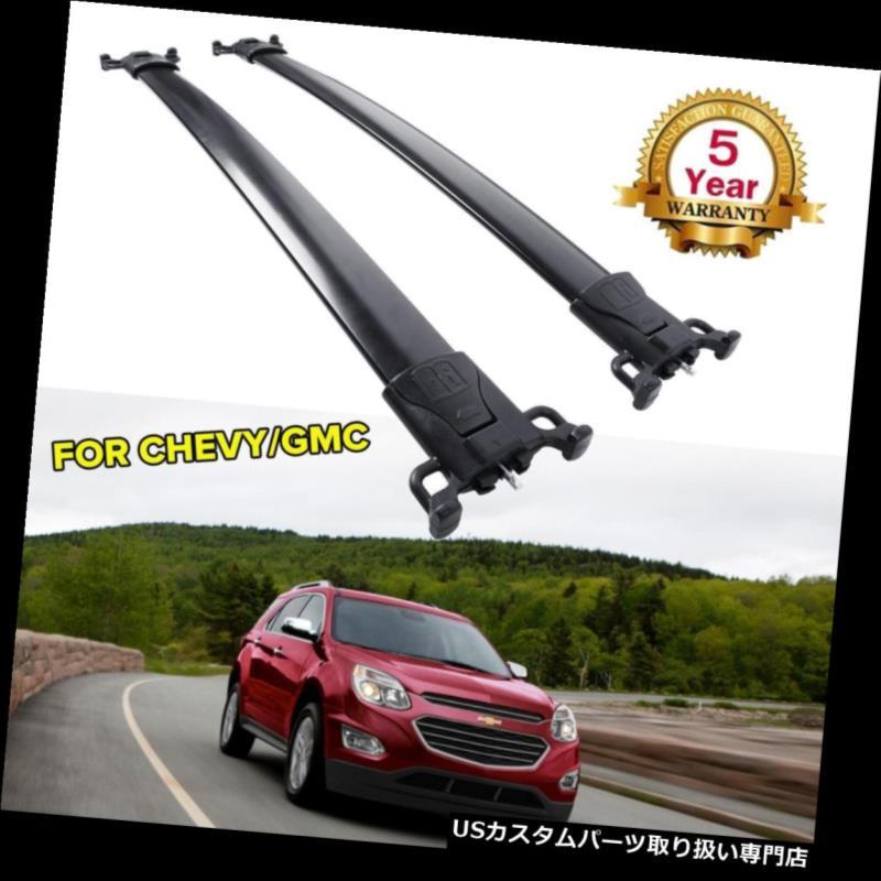 キャリア 2010-2017年のシボレー春分のアルミOEスタイルルーフラッククロスバー荷物キャリア For 2010-2017 Chevy Equinox Aluminum OE Style Roof Rack Crossbar Luggage Carrier