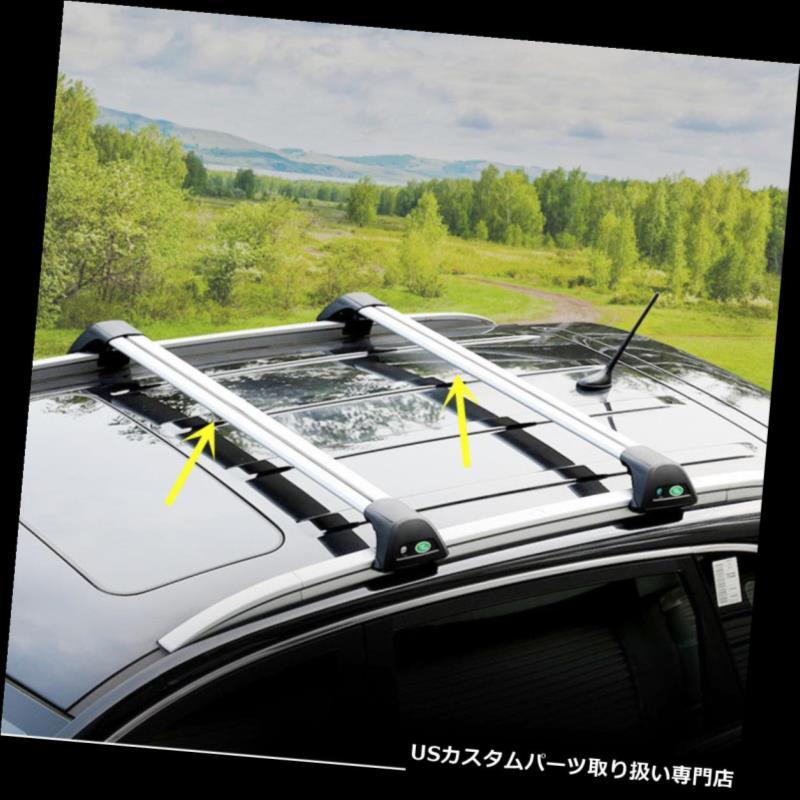 キャリア 三菱アウトランダーのための2010-2016車のトップルーフラッククロスバー荷物キャリア For Mitsubishi Outlander 2010-2016 Car Top Roof Racks Cross Bars Luggage Carrier