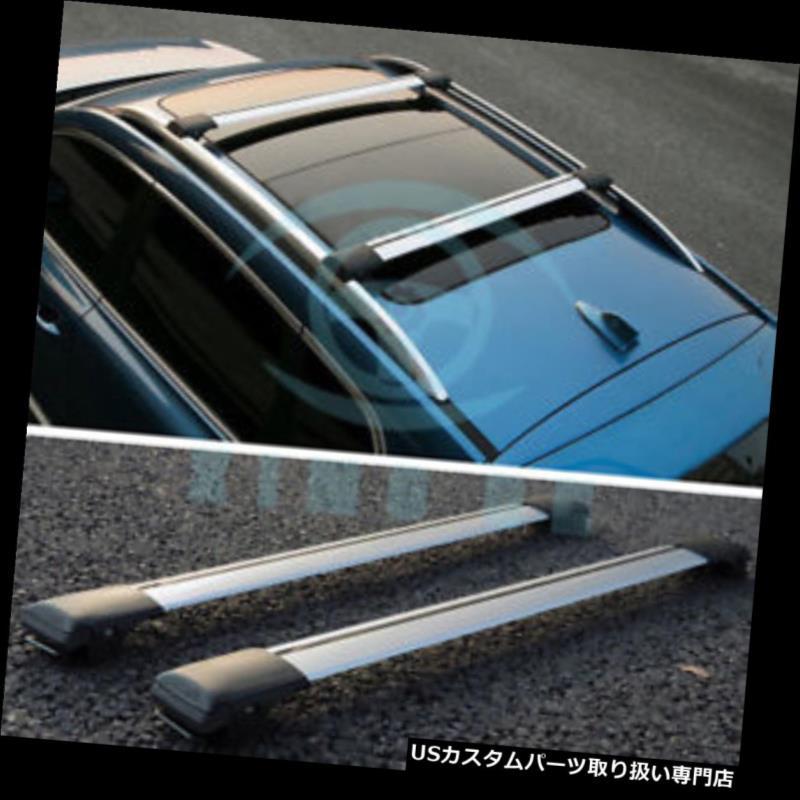 キャリア スバルXV 2012-2014用自動合金トップ荷物キャリアクロスバールーフラックバー Auto Alloy Top Luggage Carrier Cross Bar Roof Racks Bar For Subaru XV 2012-2014