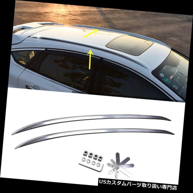 キャリア フォードフォーカス2012-2015オートハッチバックトップルーフラッククロスバー荷物キャリア For Ford Focus 2012-2015 Auto Hatchback Top Roof Rack Cross Bar Luggage Carrier