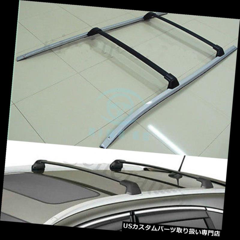 キャリア ホンダCRV / CR-V 2012-2016のための4X屋根の手荷物の十字ラックバーの柵のクロスバー 4X Roof Baggage Cross Rack Bar Rail Crossbar For Honda CRV/CR-V 2012-2016