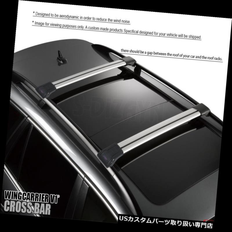 キャリア メルセデスグラクラスX156 2014-2018アルミトップルーフラッククロスバークロスレール MERCEDES GLA CLASS X156 2014-2018 ALUMINUM TOP ROOF RACK CROSS BAR CROSS RAILS