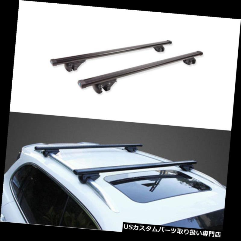 キャリア Dodge JCUV Journey 2010-2016用カートップルーフラッククロスバーラゲッジホルダー For Dodge JCUV Journey 2010-2016 Car Top Roof Rack Cross Bars Luggage Holder