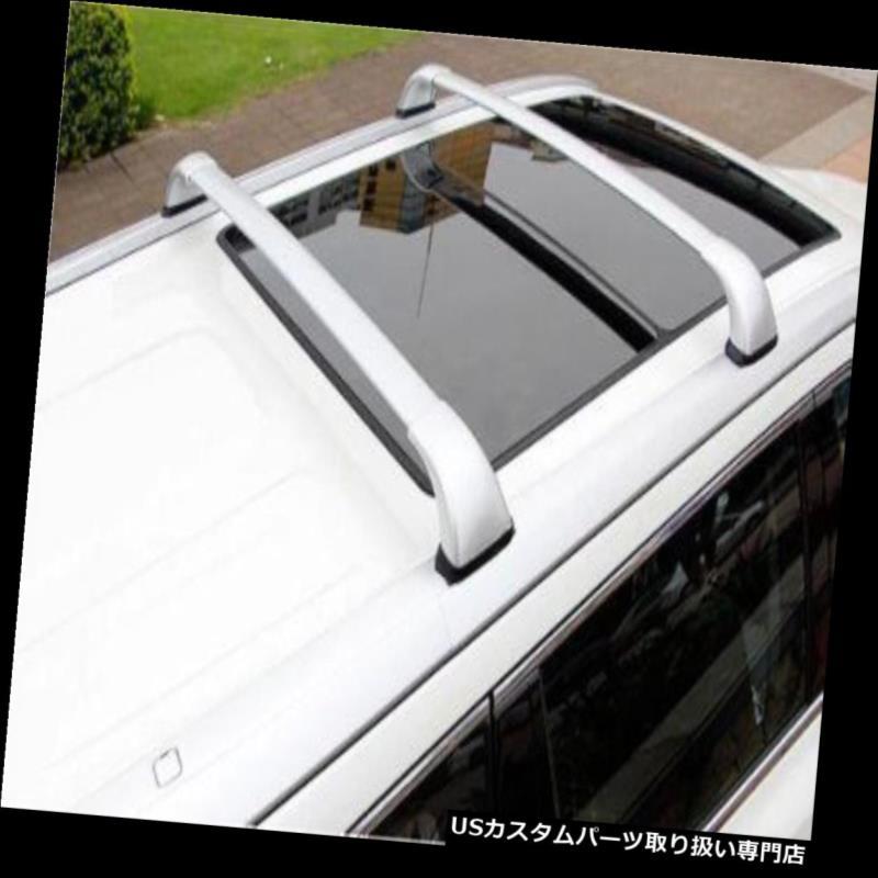 キャリア Toyota Highlander Kluger 2014 15ルーフラゲッジラゲッジラッククロスバーレールN For Toyota Highlander Kluger 2014 15 roof baggage luggage rack cross bar rail N