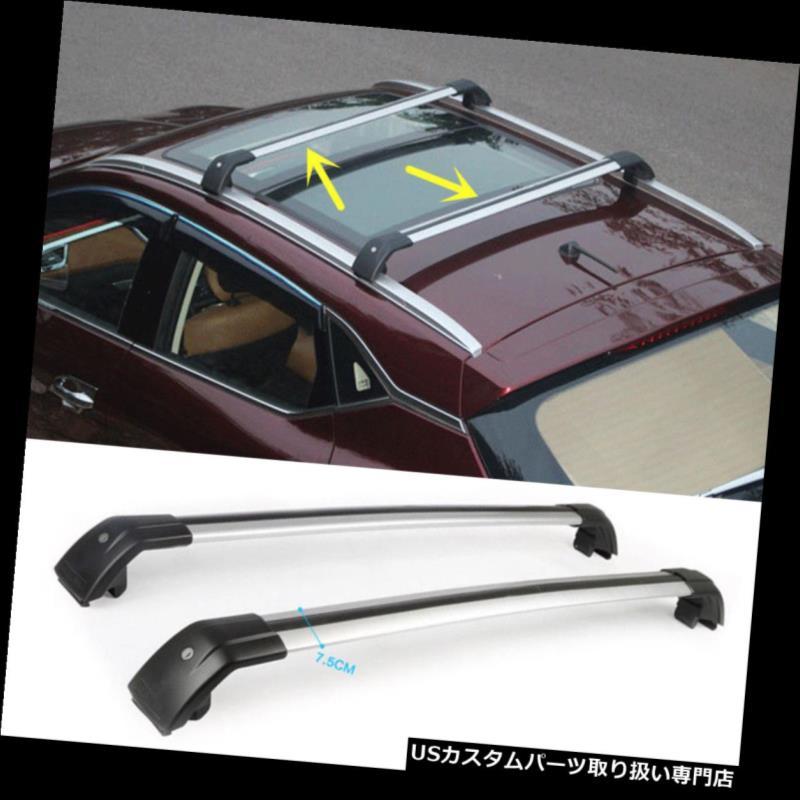 キャリア 三菱パジェロ2010-2016用カートップルーフラッククロスバー荷物キャリア For Mitsubishi Pajero 2010-2016 Car Top Roof Rack Cross Bars Luggage Carrier