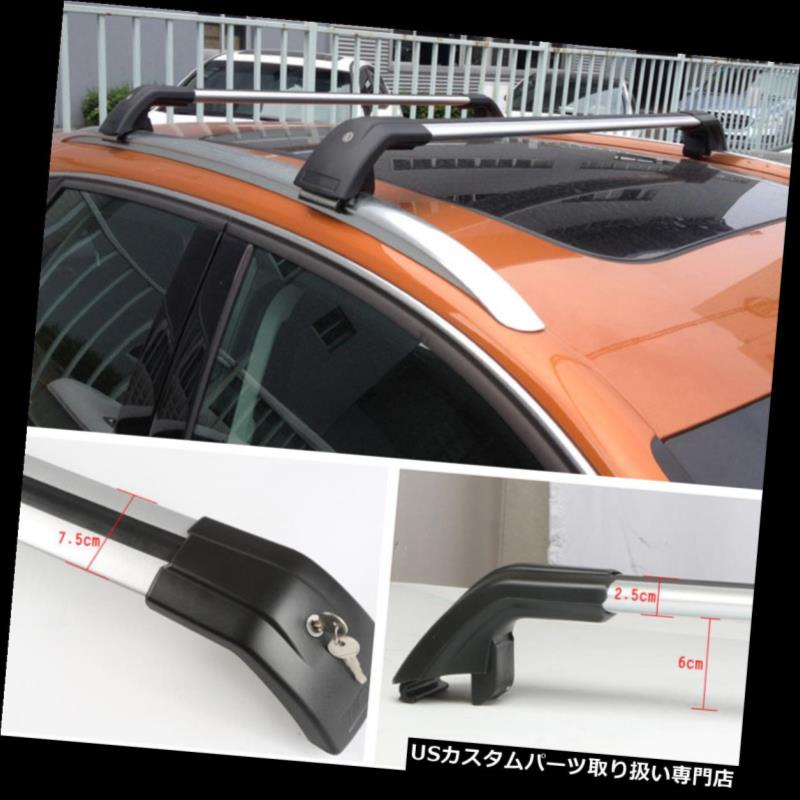 キャリア フォルクスワーゲンティグアン2010-2016用カートップルーフラッククロスバー荷物キャリア For Volkswagen Tiguan 2010-2016 Car Top Roof Racks Cross Bars Luggage Carriers