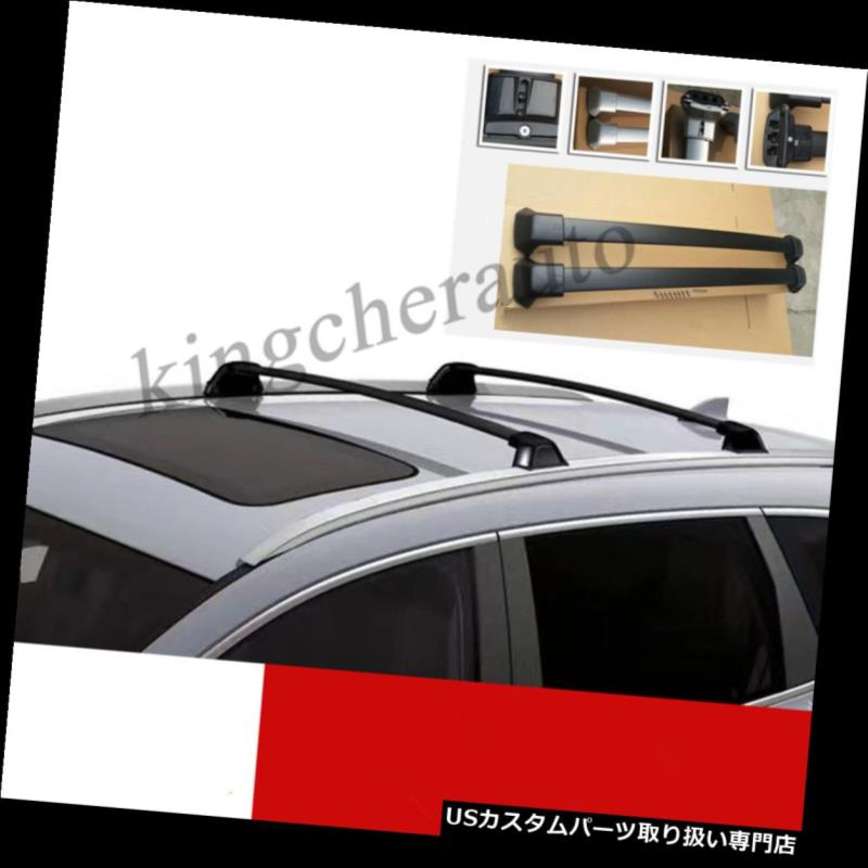 For Nissan Rogue OE Style Aluminum Bolt-on Top Rail Roof Rack Cross Bar Luggage Carrier