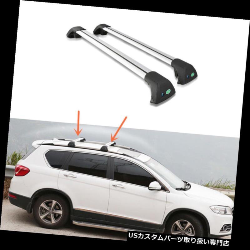 キャリア 2PCSアルミルーフラッククロスバーシボレーキャプティバ天窓バージョン用 2PCS Aluminum Roof Rack Cross Bar Set For Chevrolet Captiva Skylight version