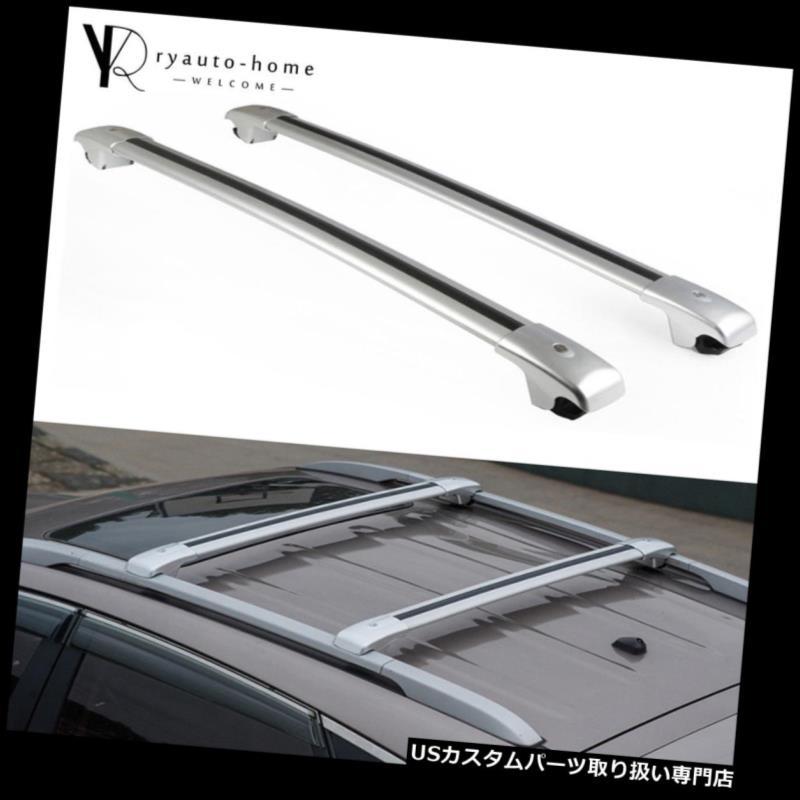 キャリア クロスバークロスバーはフォードエスケープ2012-2018ルーフラックレールアルミ用 Crossbars Cross Bar Fits For Ford Escape 2012-2018 Roof Rack Rail Aluminum