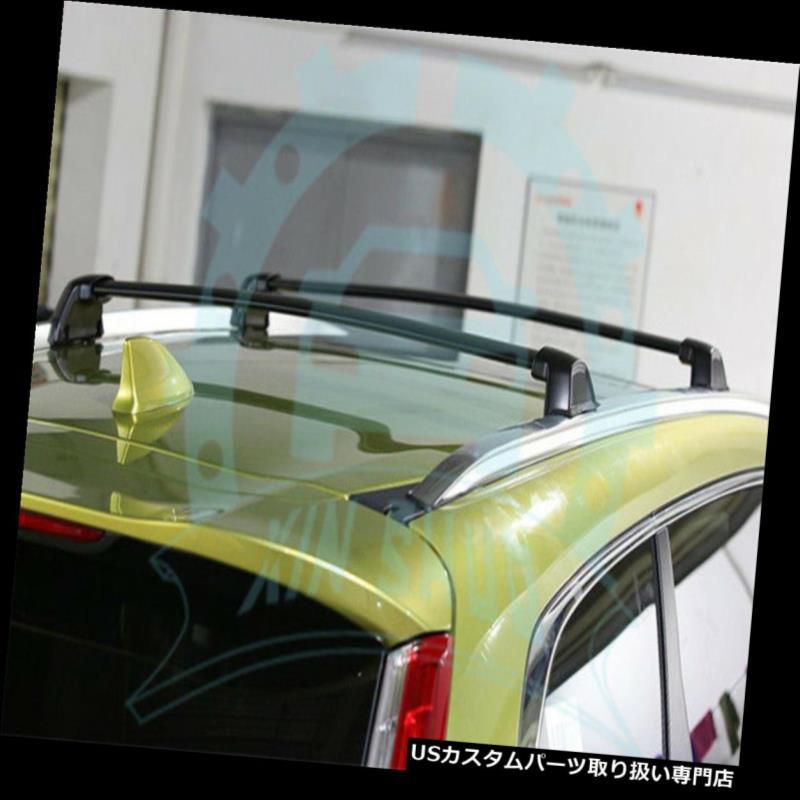 キャリア 4本ホンダCRV CR-V 2017 2018アルミルーフレールルーフラッククロスバーB 4Pcs for Honda CRV CR-V 2017 2018 Aluminium Roof Rail Roof Rack Cross Bars B