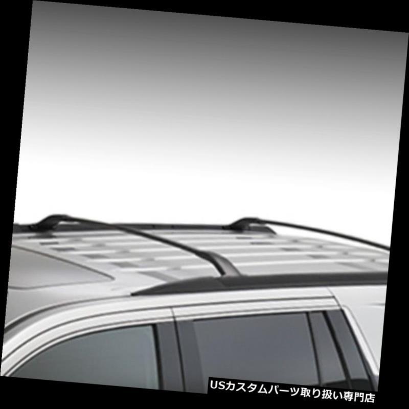 キャリア GMブラックルーフレールクロスバー2015-2019 Tahoe Suburban Yukon XL 23256564 OEM GM Black Roof Rail Cross Bars 2015-2019 Tahoe Suburban Yukon XL 23256564 OEM