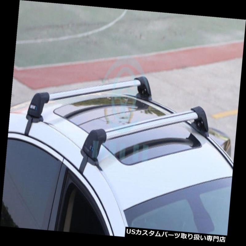 キャリア マツダ6 2003-15のための2本のアルミ合金車の荷物キャリアクロスバールーフラック 2pcs Aluminum Alloy Car Luggage Carrier Cross Bar Roof Racks For Mazda 6 2003-15