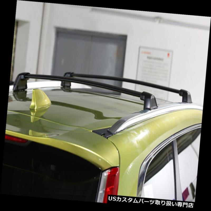 キャリア ホンダCRV CR-V 2017 2018アルミルーフレールルーフラッククロスバー用4本フィット 4Pcs Fit for Honda CRV CR-V 2017 2018 Aluminium Roof Rail Roof Rack Cross Bars