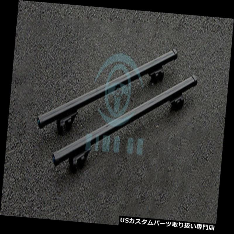 キャリア スバルの奥地2004-15のために合金の車の荷物キャリアクロスバールーフラックブラック Alloy Car Luggage Carrier Cross Bar Roof Racks Black For Subaru Outback 2004-15