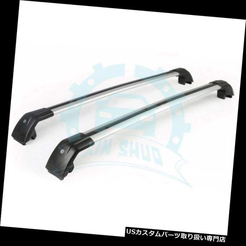 キャリア 三菱ASX Outlander Sport 2010-2017ルーフレールラッククロスバーB用 for Mitsubishi ASX Outlander Sport 2010-2017 Roof Rail Racks Cross Bar B
