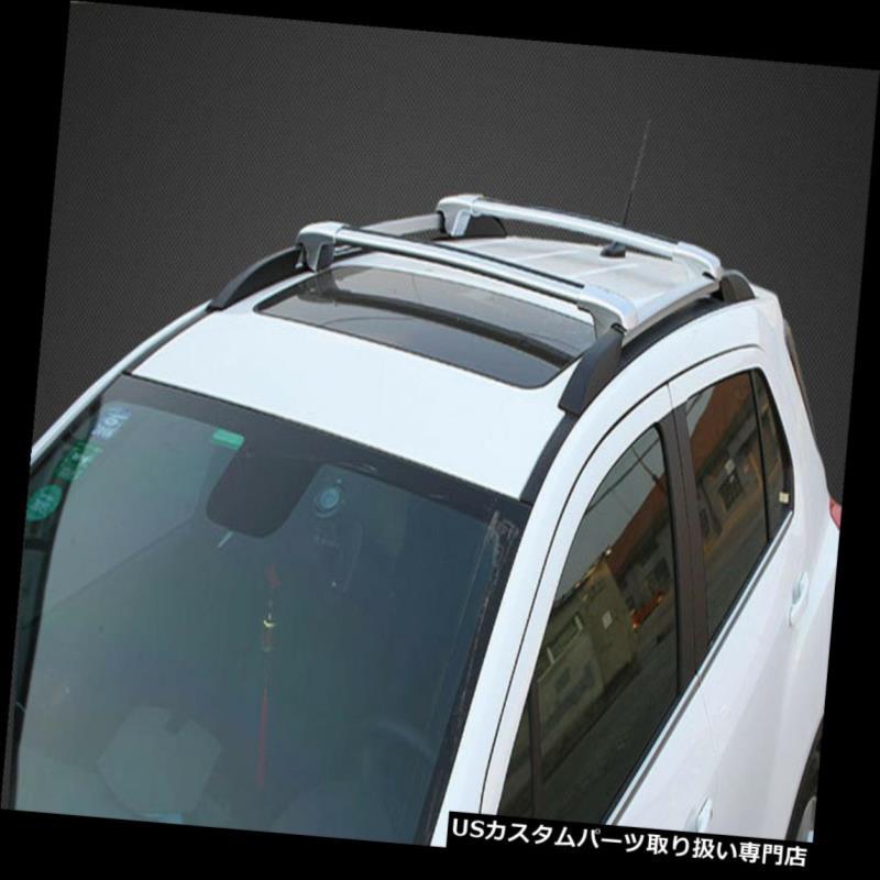 キャリア Tiguan 2010-2016 1セット銀色のクロスバーの屋根の貨物荷物ラック For Tiguan 2010-2016 1set silvery Cross Bar Roof Cargo Luggage Rack