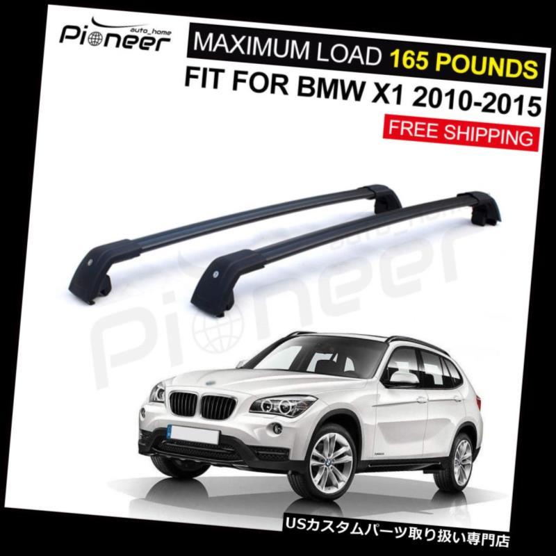 キャリア BMW X1 E84 2010-2015ラゲッジロック可能ルーフレールラッククロスバークロスバー Fit for BMW X1 E84 2010-2015 Luggage Lockable Roof Rail Racks Cross Bar Crossbar