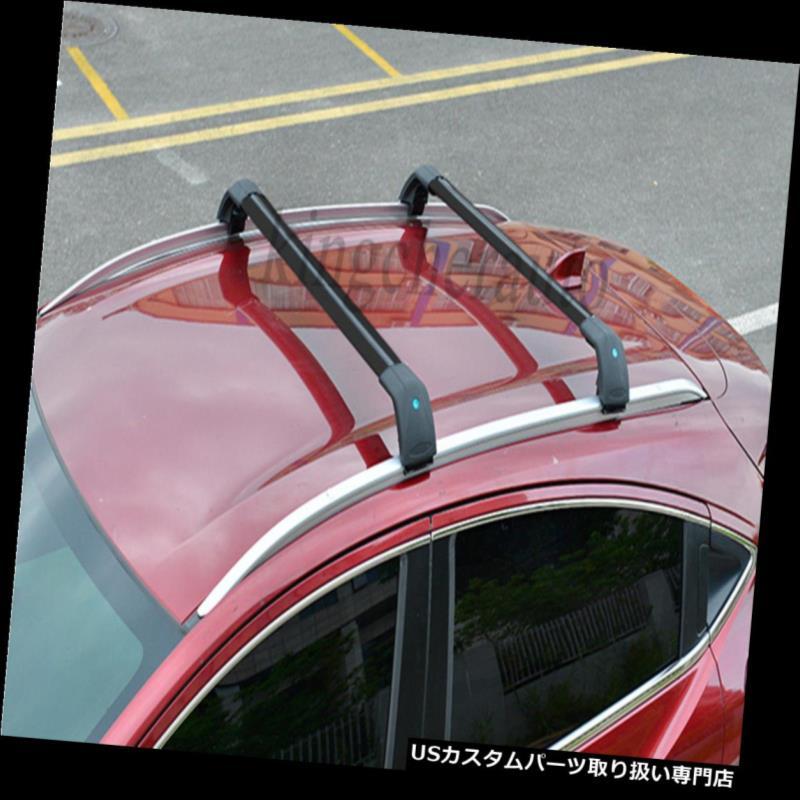 キャリア ホンダベゼルHRV HR-V 2016 2017 4本ルーフラックレールクロスバークロスバー用フィット fit for Honda Vezel HRV HR-V 2016 2017 4Pcs roof rack rail cross bar crossbar